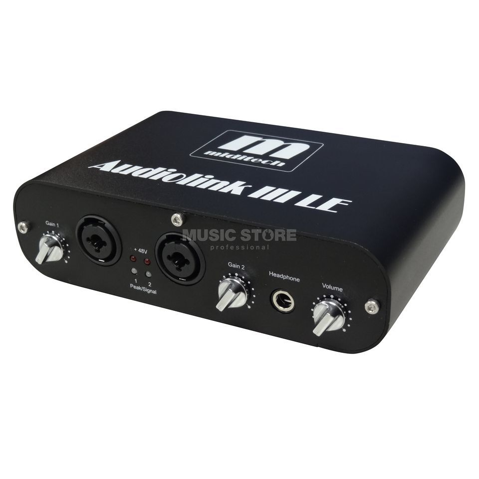 Miditech AUDIOLINK III LE Liwithed Edition black Produktbillede