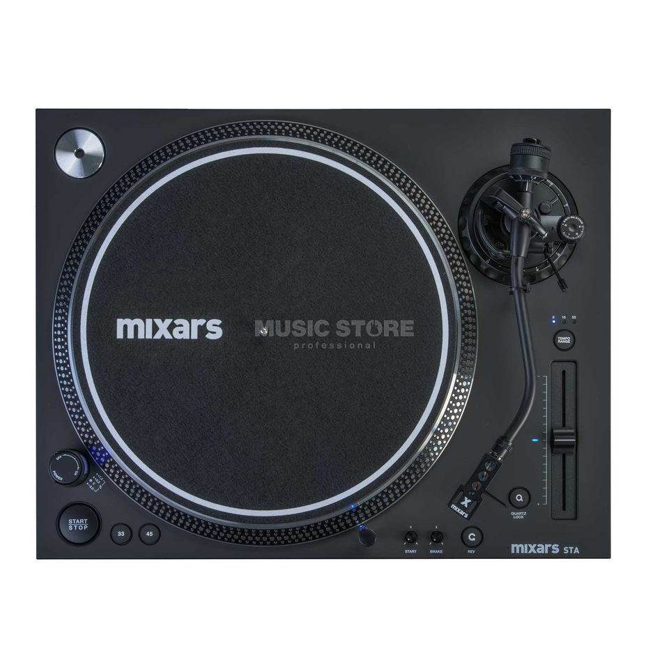 mixars STA High Torque Scratch Turntable Produktbild