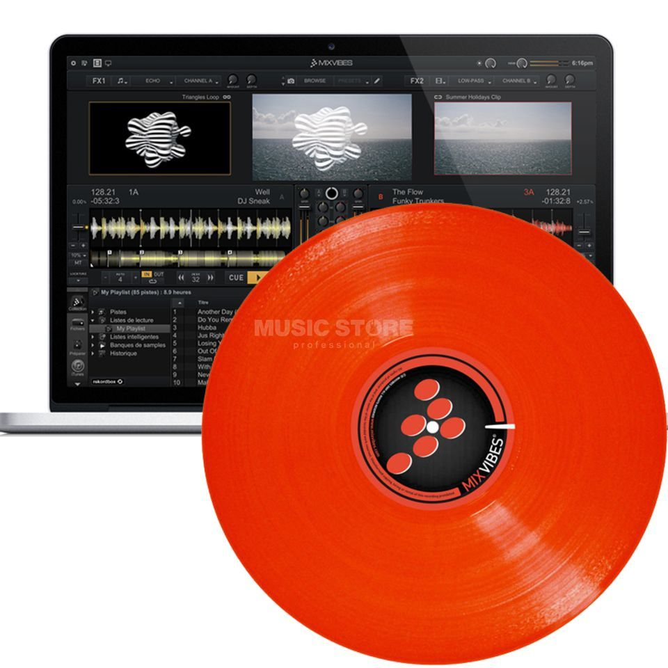 MixVibes Cross DVS Red  Product Image