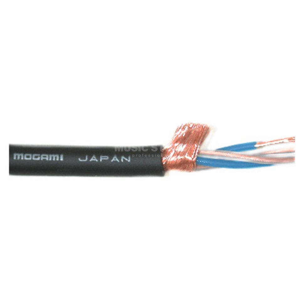 Mogami 2534 NEGLEX Quad Mikrokabel schwarz, 6mm, Meterware, 1m Product Image