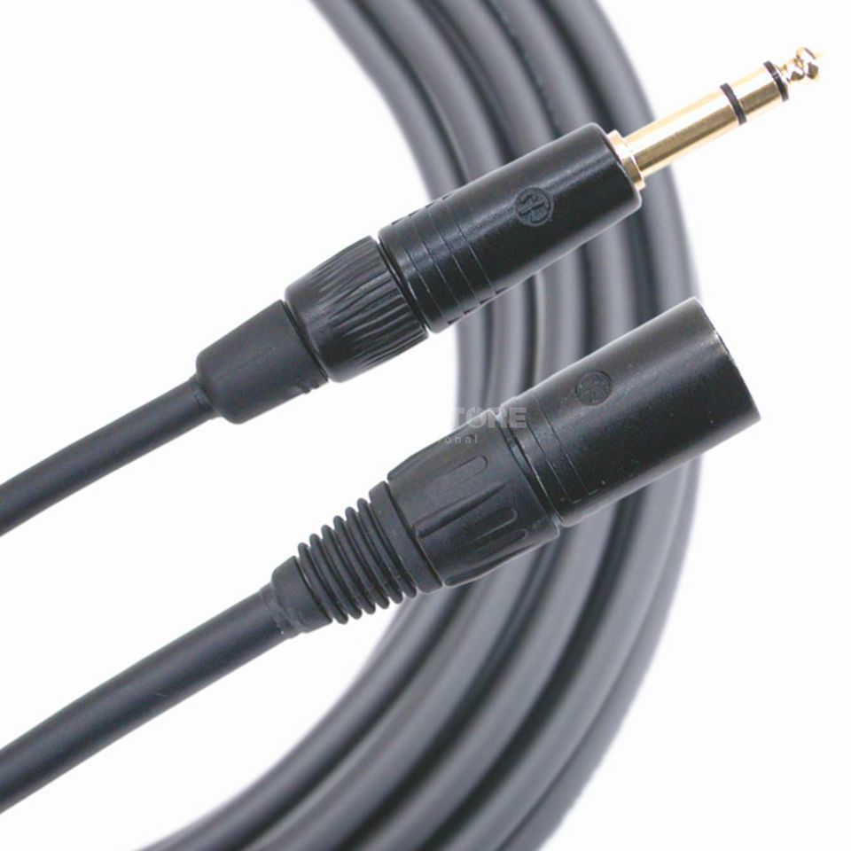 Mogami Accessory Cable, 1 m Gold Series, Jack sym <> XLR-m Product Image