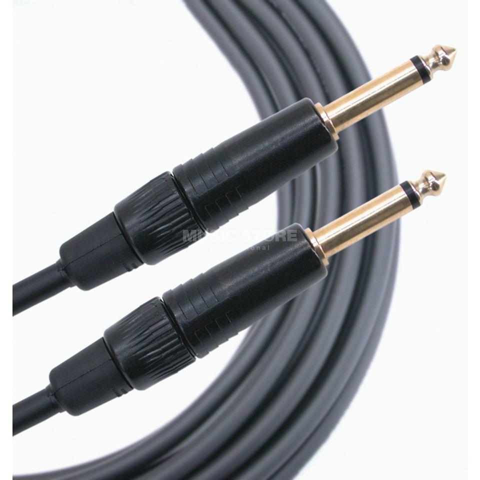 Instrument-/Guitar Cable, 3 m Gold Series, Jack <> Jack