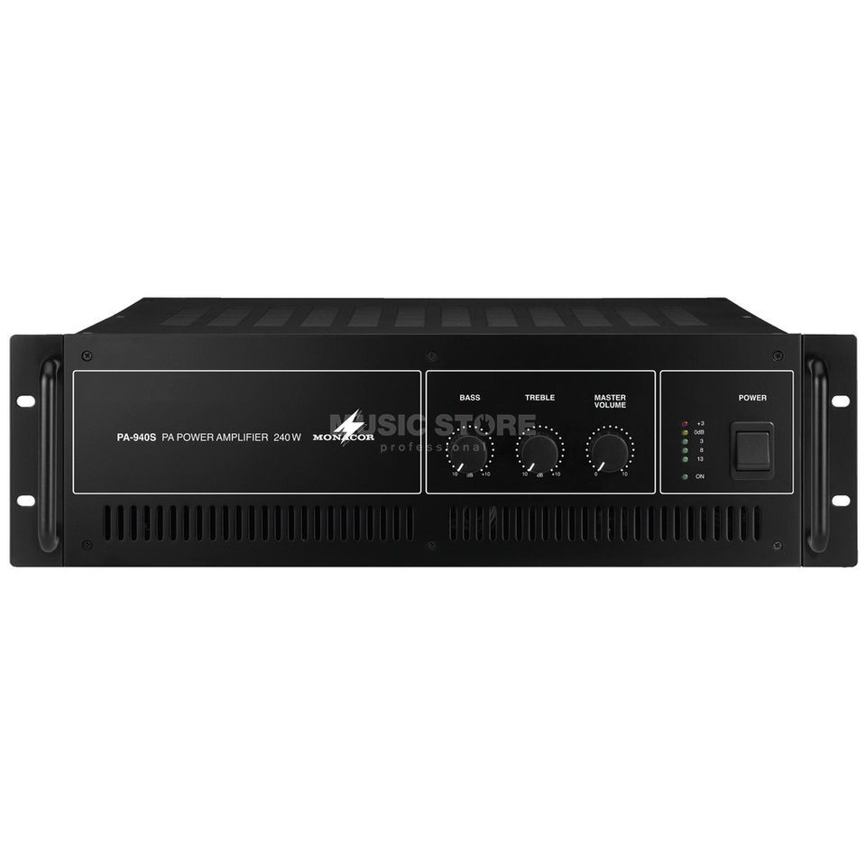 Monacor PA-940S ELA-Mono Power Amplifier Produktbillede