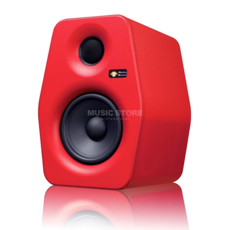 Monkey Banana Turbo 5 rot 2-way Studiomonitor, active Produktbillede