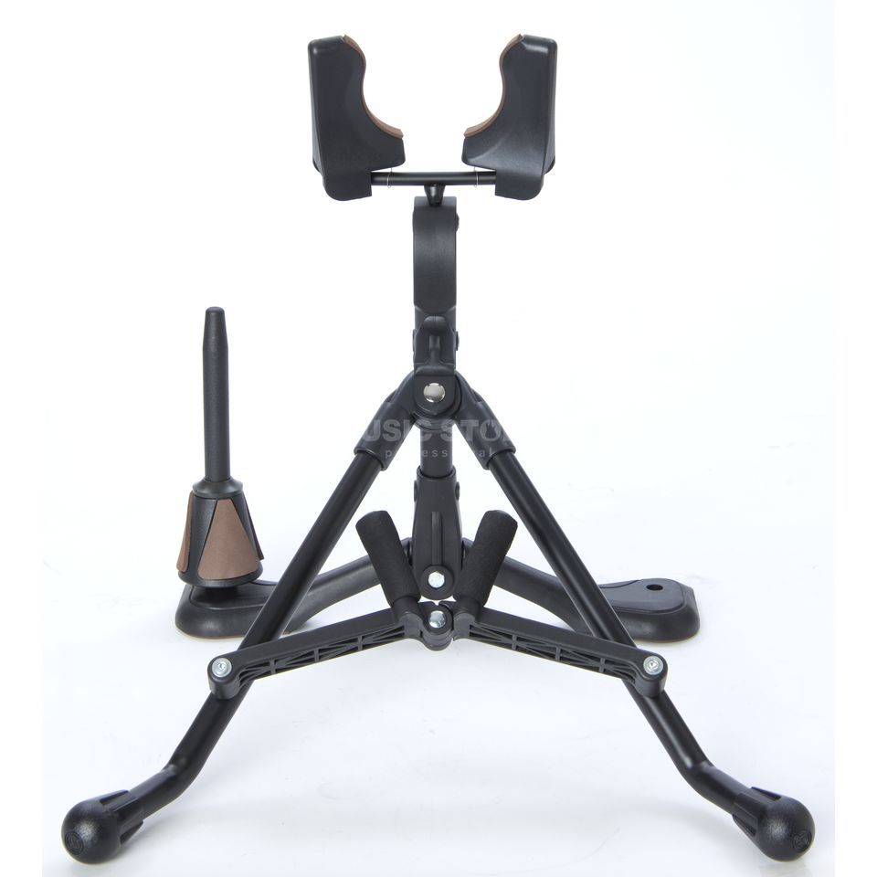 Monzani AX 826 Stand for Alto Sax with Clarinet Pin Product Image