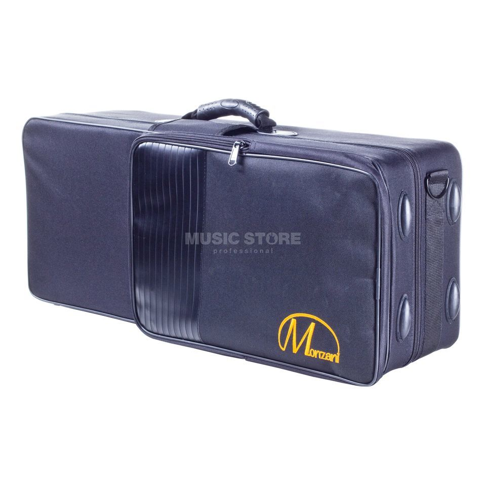 Monzani BAS-02 STD Eb Alto Saxophone Case with Back-Pack Straps Product Image