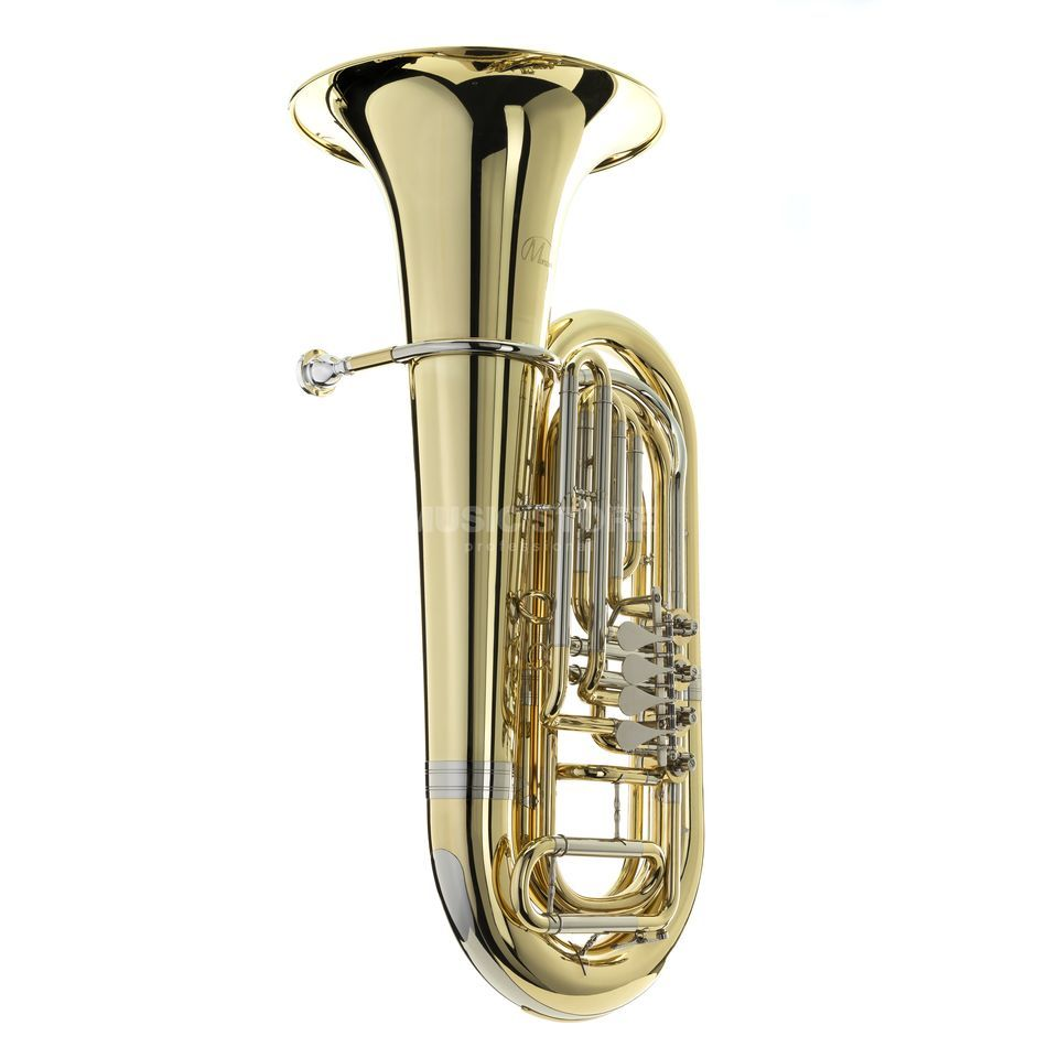 Monzani MZBB-500L Bb-Tuba messing, Lackiert, 4 Ventile Productafbeelding
