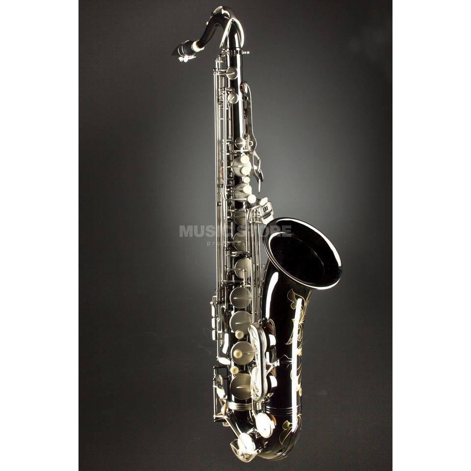 Monzani MZTS-333BN Bb-Tenor Saxophone Brass, Black Nickel Plated Produktbillede