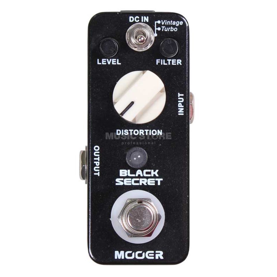 Mooer Audio Black Secret Distortion  Produktbillede
