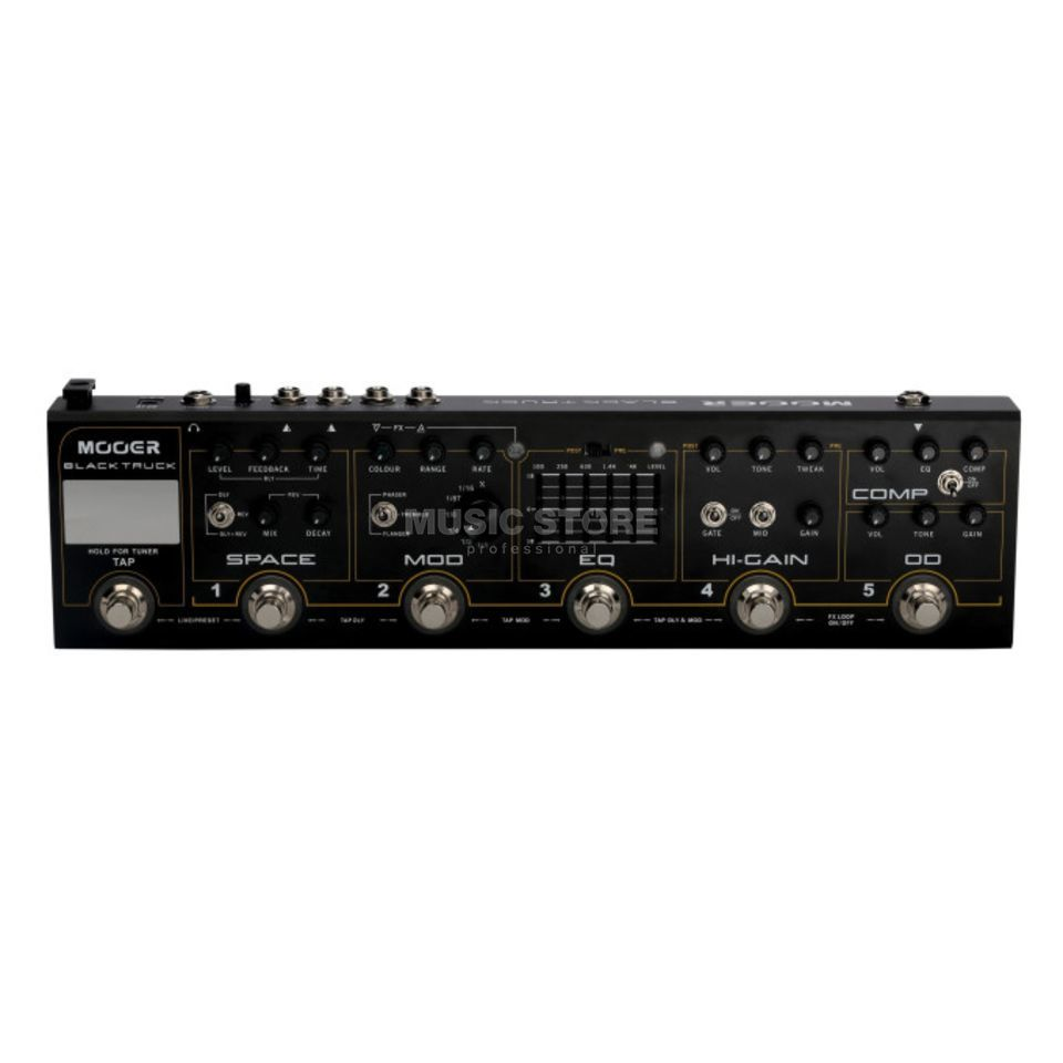 Mooer Audio Black Truck Product Image