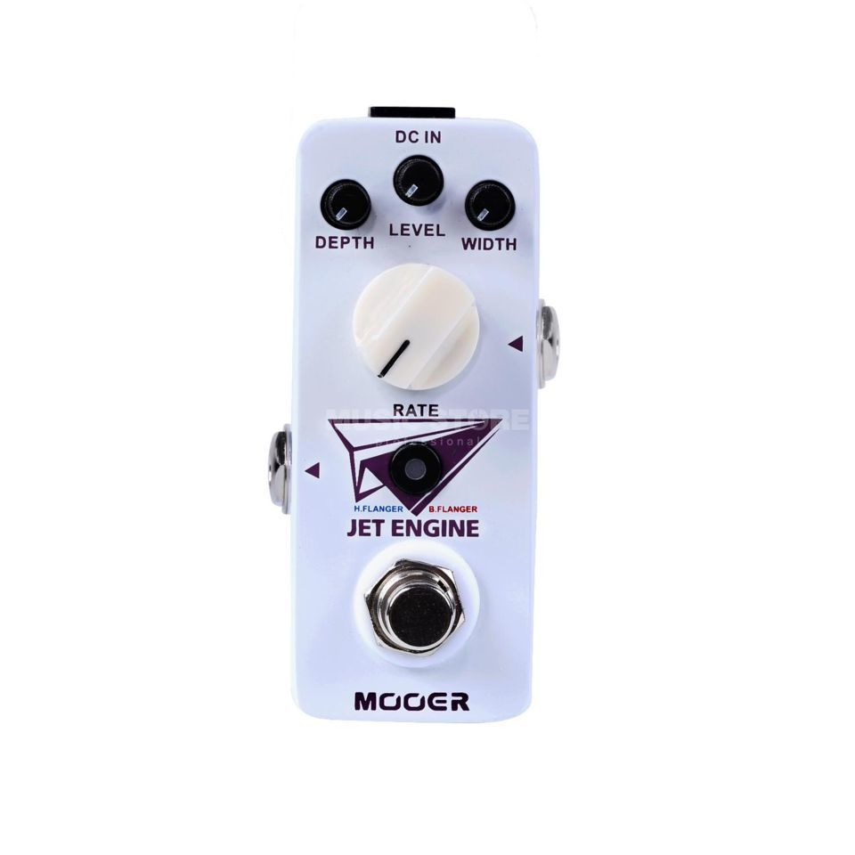 Mooer Audio Jet Engine Digital  Flanger Pedal Product Image