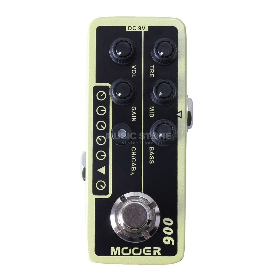 Mooer Audio Micro Preamp 006 US Classic Deluxe Product Image