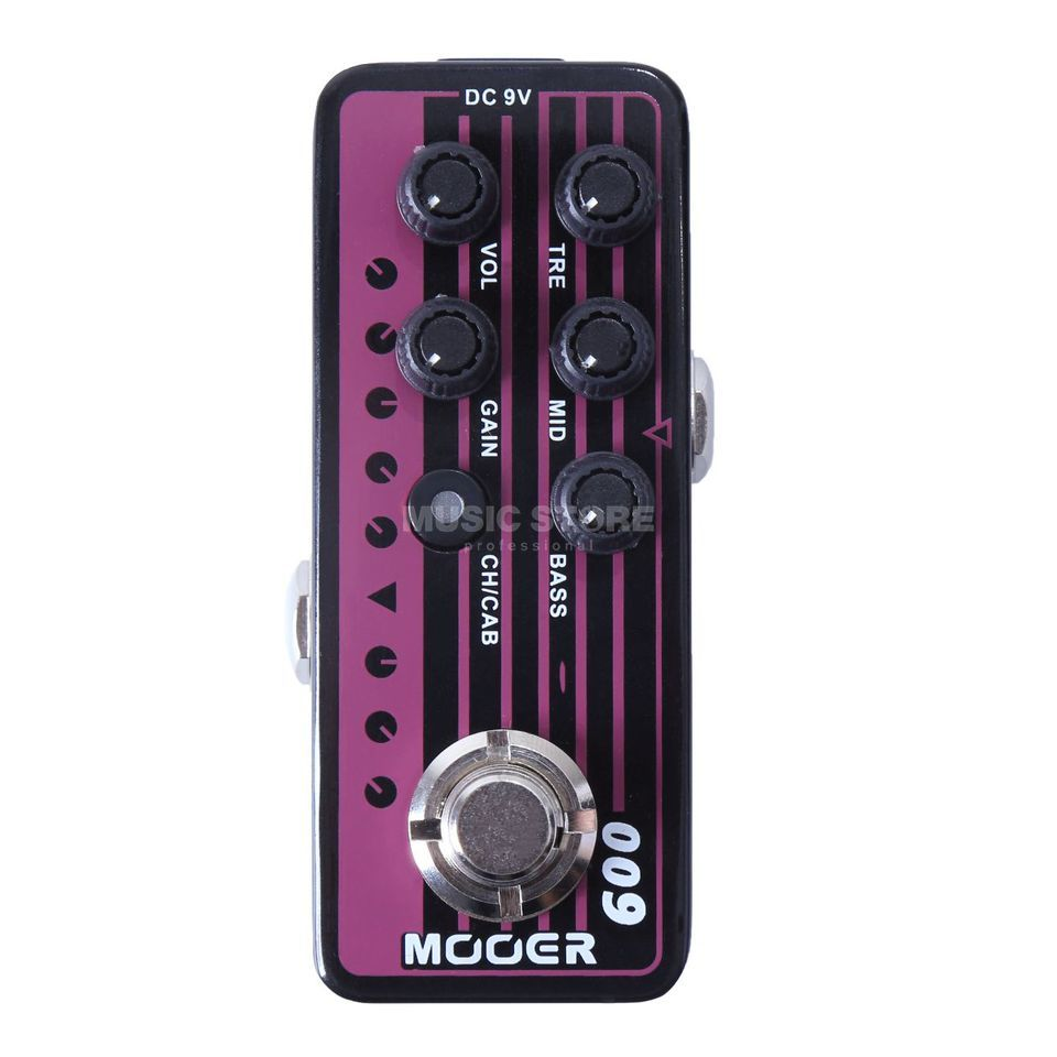 Mooer Audio Micro Preamp 009 Blacknight Product Image