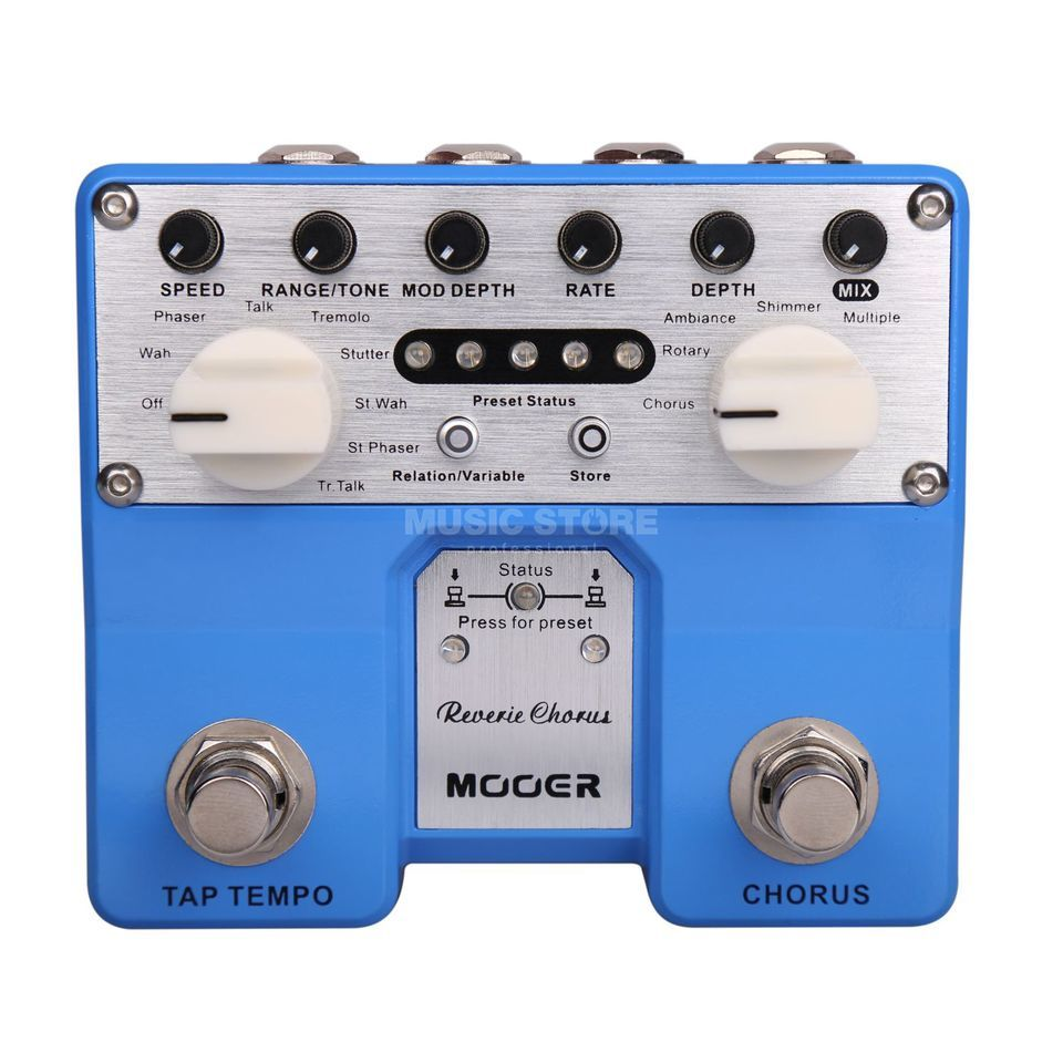 Mooer Audio Reverie Digital Chorus Produktbillede