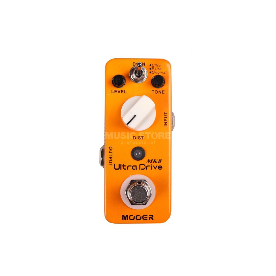 Mooer Audio Ultra Drive MKII B-Stock Distortion Pedal B-Stock Produktbillede