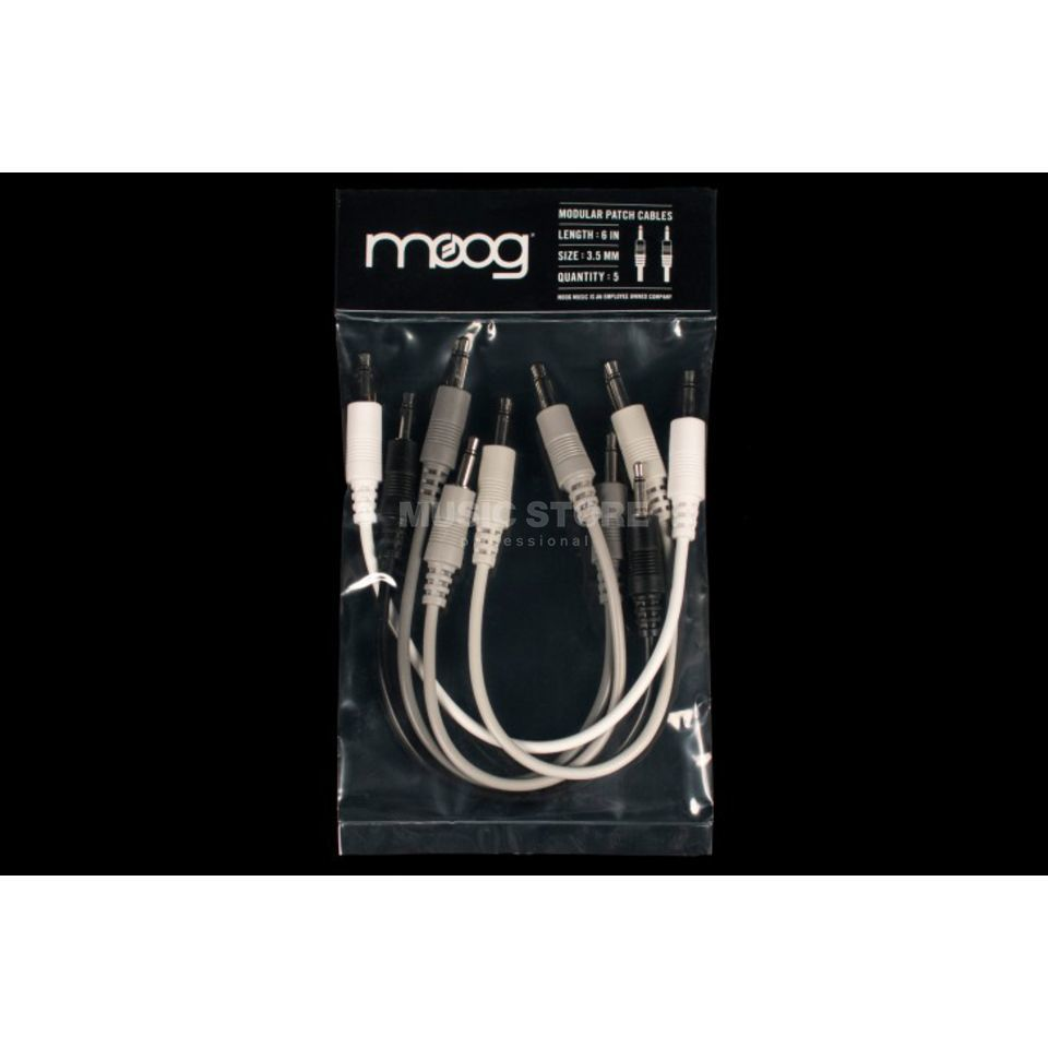Moog Mother Patchkabel 15cm Produktbild