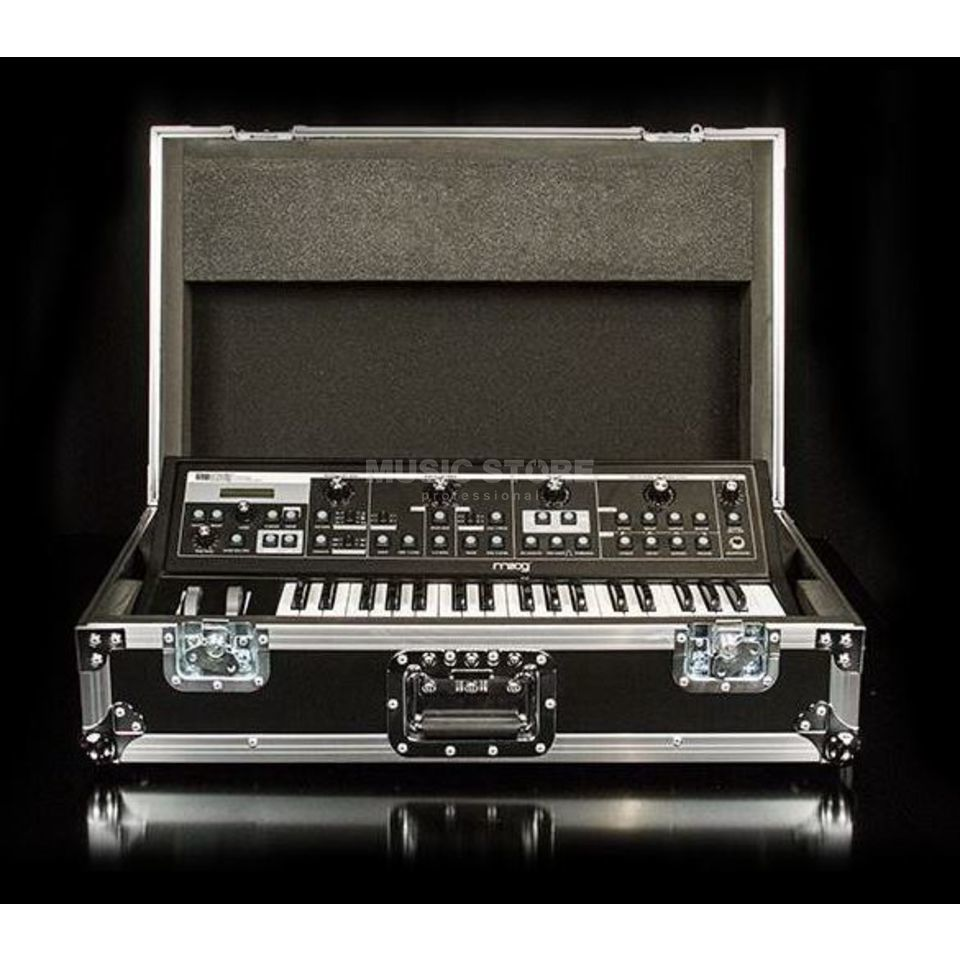Moog Sub 37 & Little Phatty Case Holz/Alu Case Produktbillede