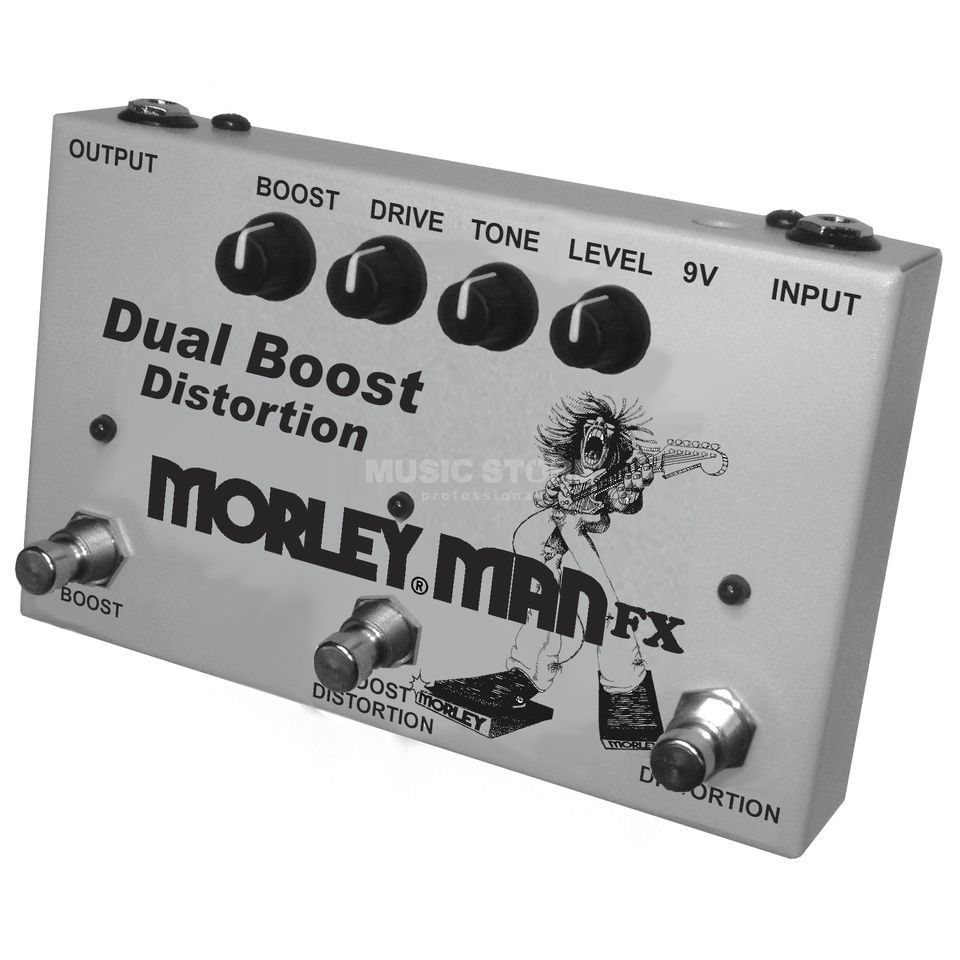 MORLEY Man FX Dual Boost Distortion Product Image
