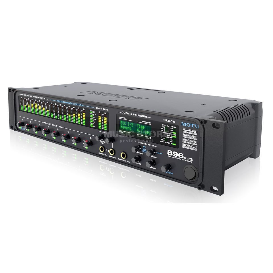 MOTU 896mk3 Hybrid Audio Interface    Produktbillede