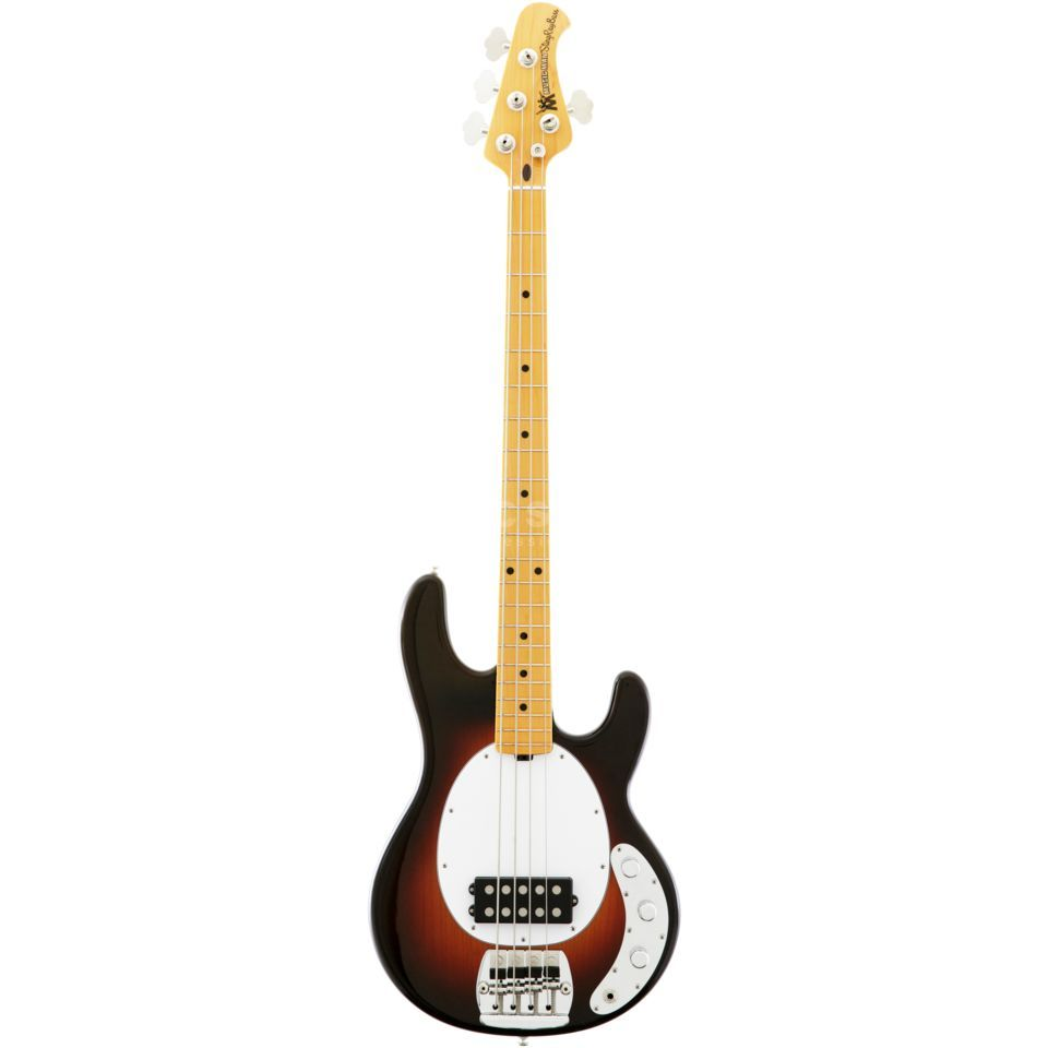 "Music Man StingRay 40th Anniversary ""Old Smoothie"" Chocolate Burst Product Image"