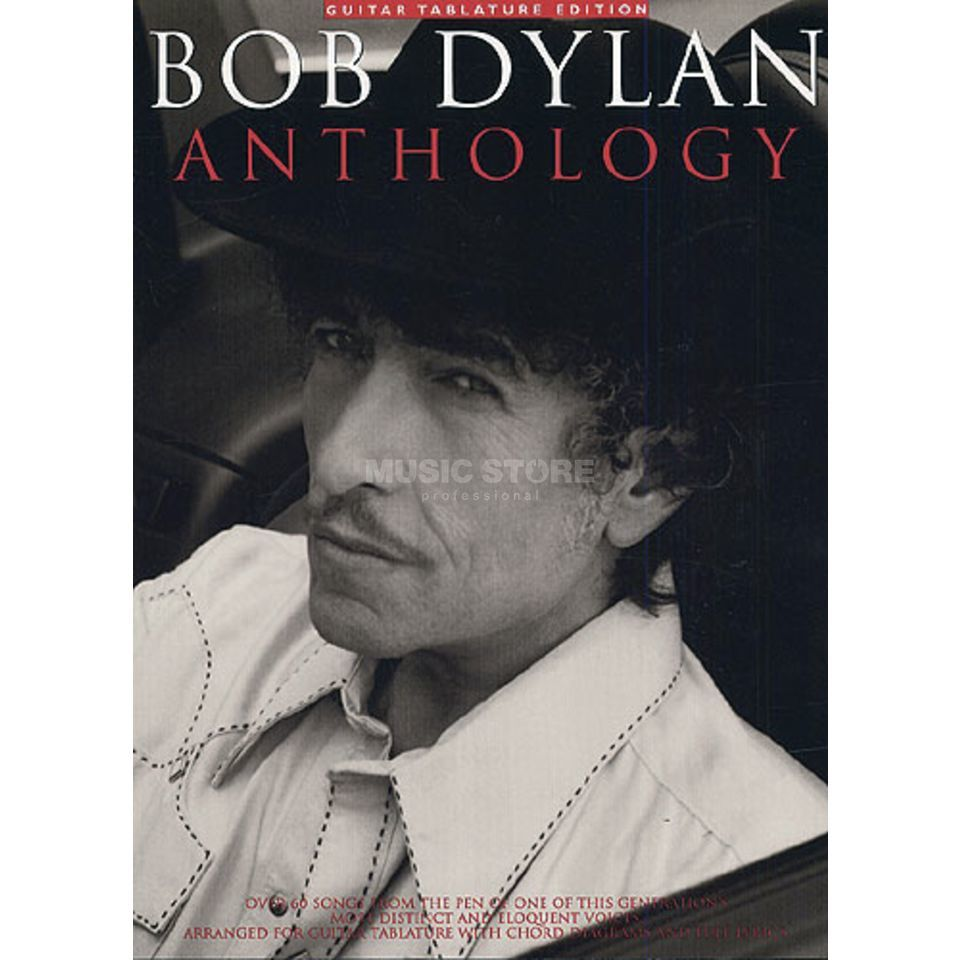 Music Sales Bob Dylan: Anthology TAB Produktbild