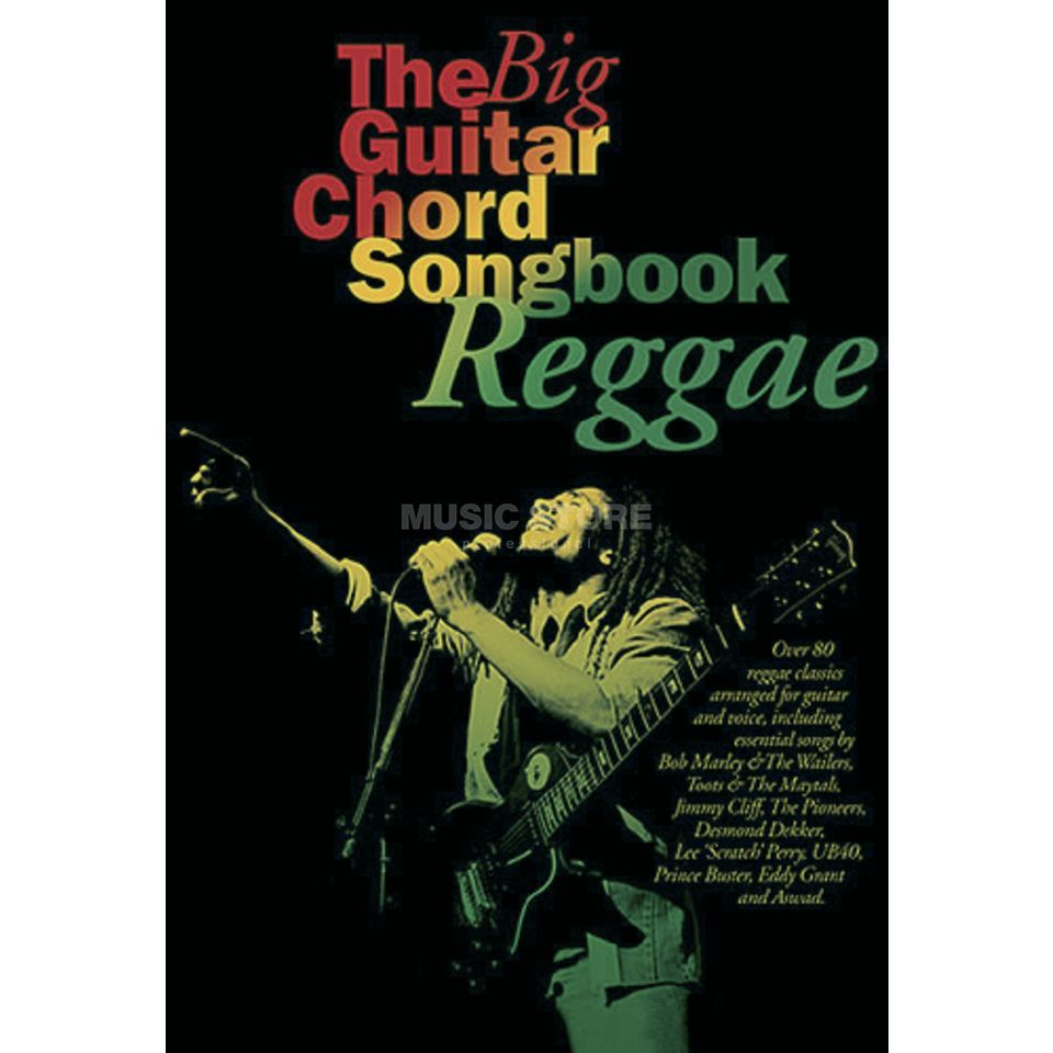 Music Sales Chord Songbook - Reggae Lyrics & Chords Produktbillede