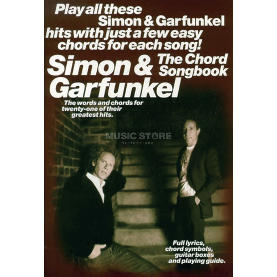 Music Sales Chord Songbook - Simon & Garfu Lyrics & Chords Produktbillede