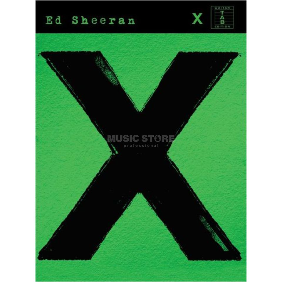 Music Sales Ed Sheeran: X Produktbillede