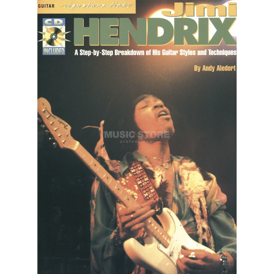 Music Sales Jimi Hendrix: Signature Licks Produktbild