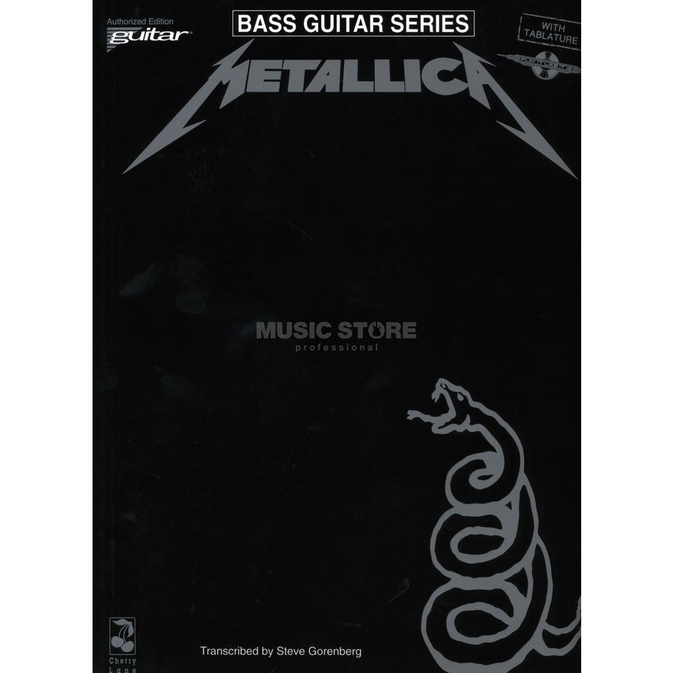 Music Sales Metallica - Black Album BASS Bass TAB Produktbillede