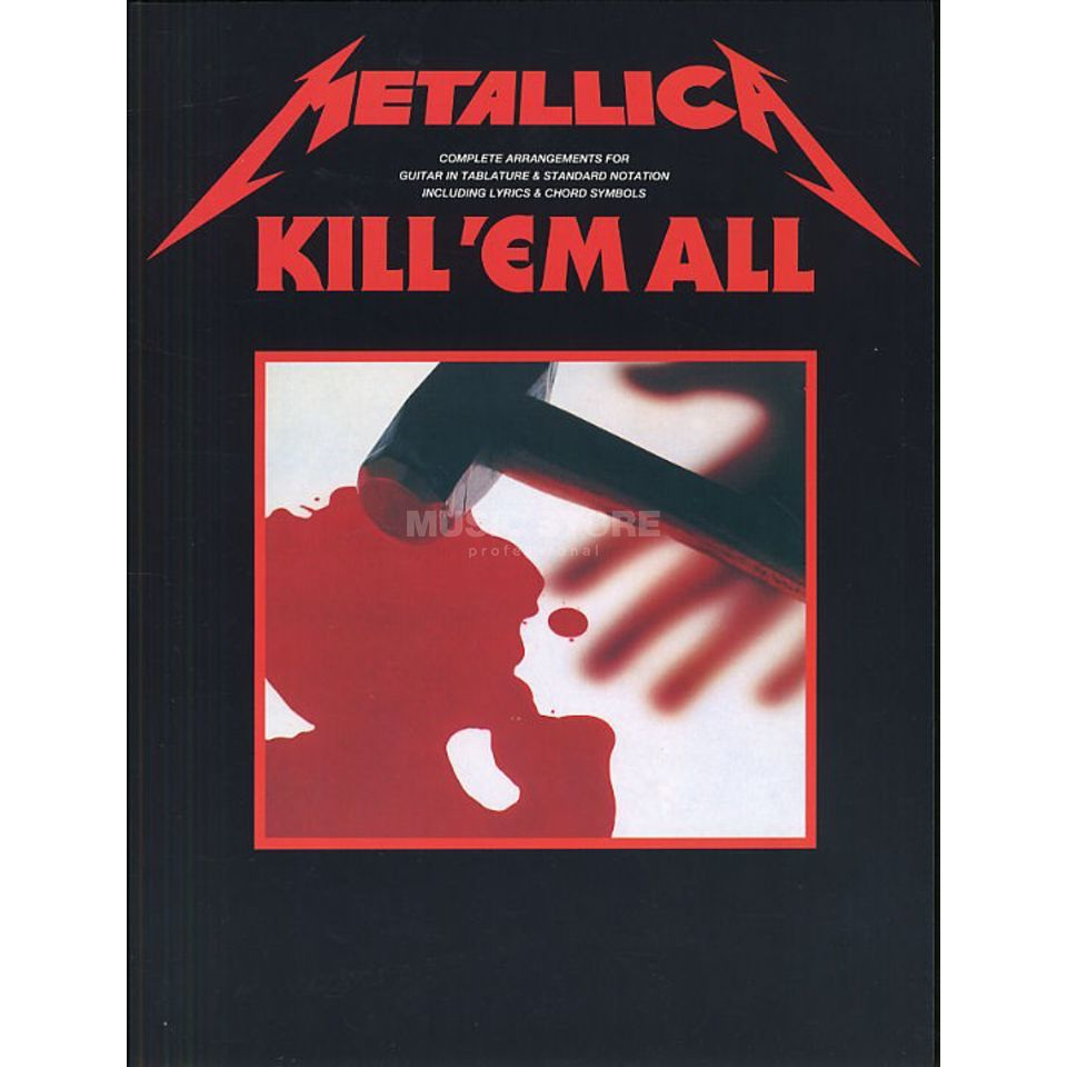 Music Sales Metallica - Kill em all TAB Produktbild