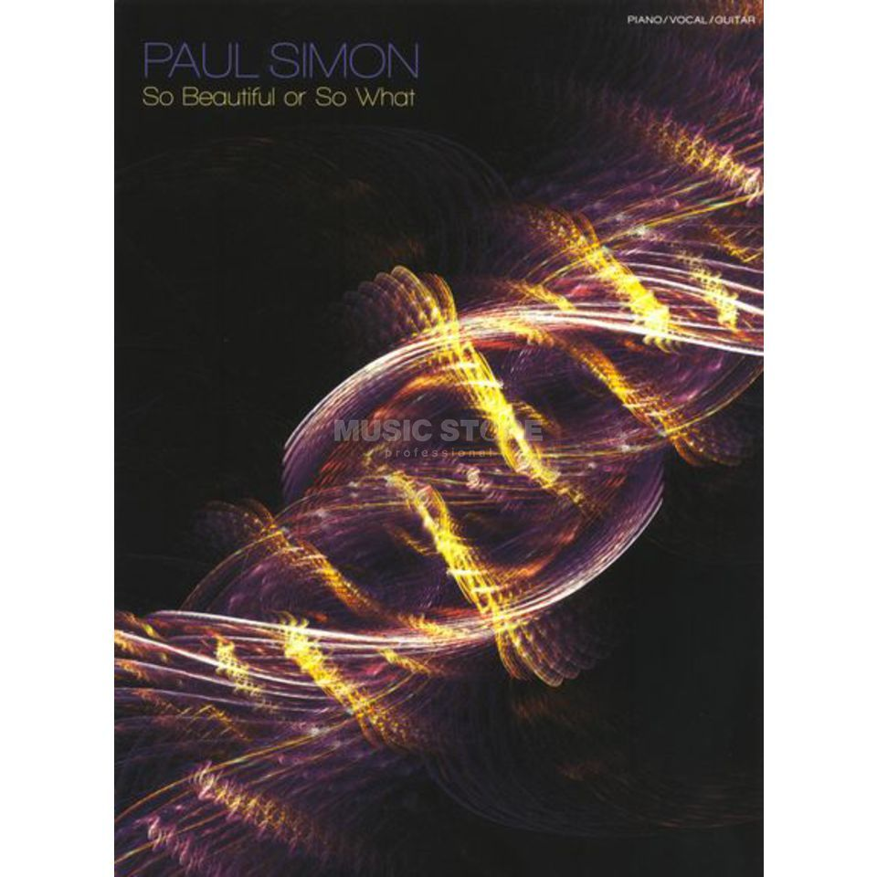 Music Sales Paul Simon: So Beautiful Or So What Produktbild