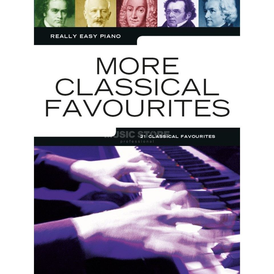 Music Sales Really Easy Piano: More Classical Favourites Produktbillede