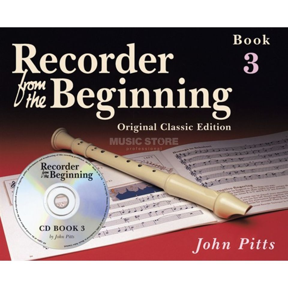 Music Sales Recorder From The Beginning 3 Pupil's Book (CD Edition) Produktbillede