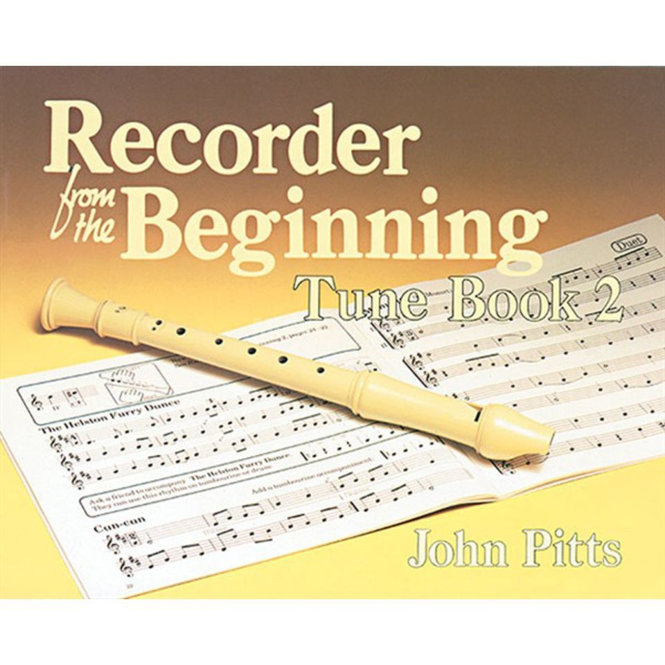 Music Sales Recorder Tunes From The Beginning 2, Pupil's Book Produktbild