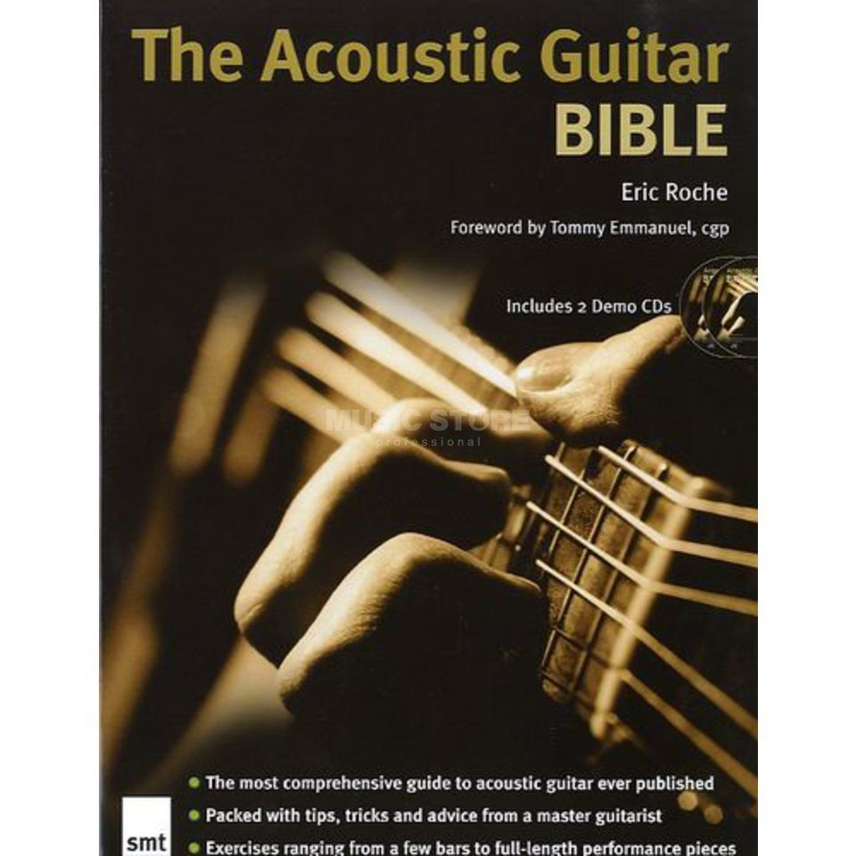 Music Sales The Acoustic Guitar Bible Lehrbuch und 2 CDs Produktbild