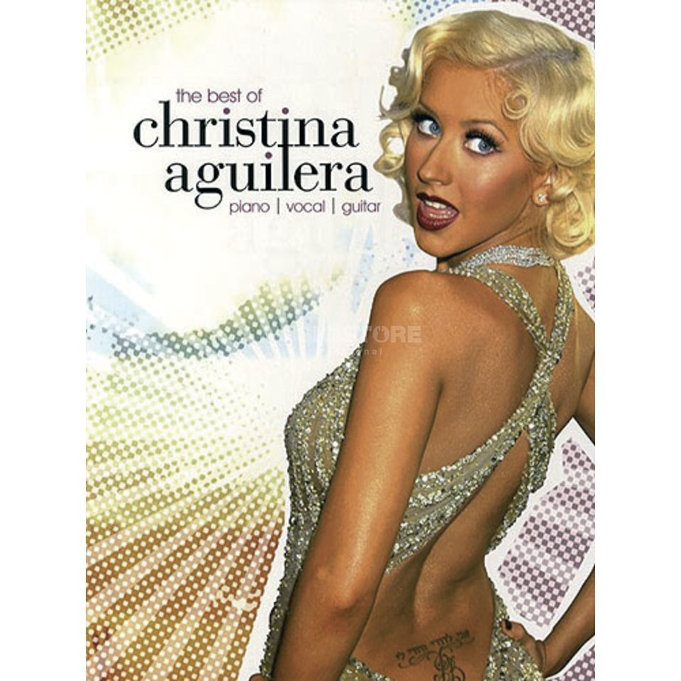 Music Sales The Best Of Christina Aguilera PVG Produktbild