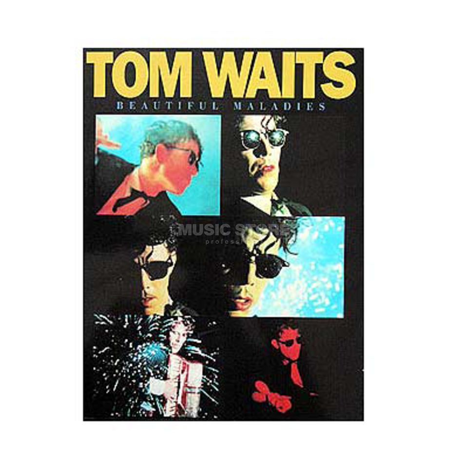Music Sales Tom Waits: Beautiful Maladies PVG Produktbild