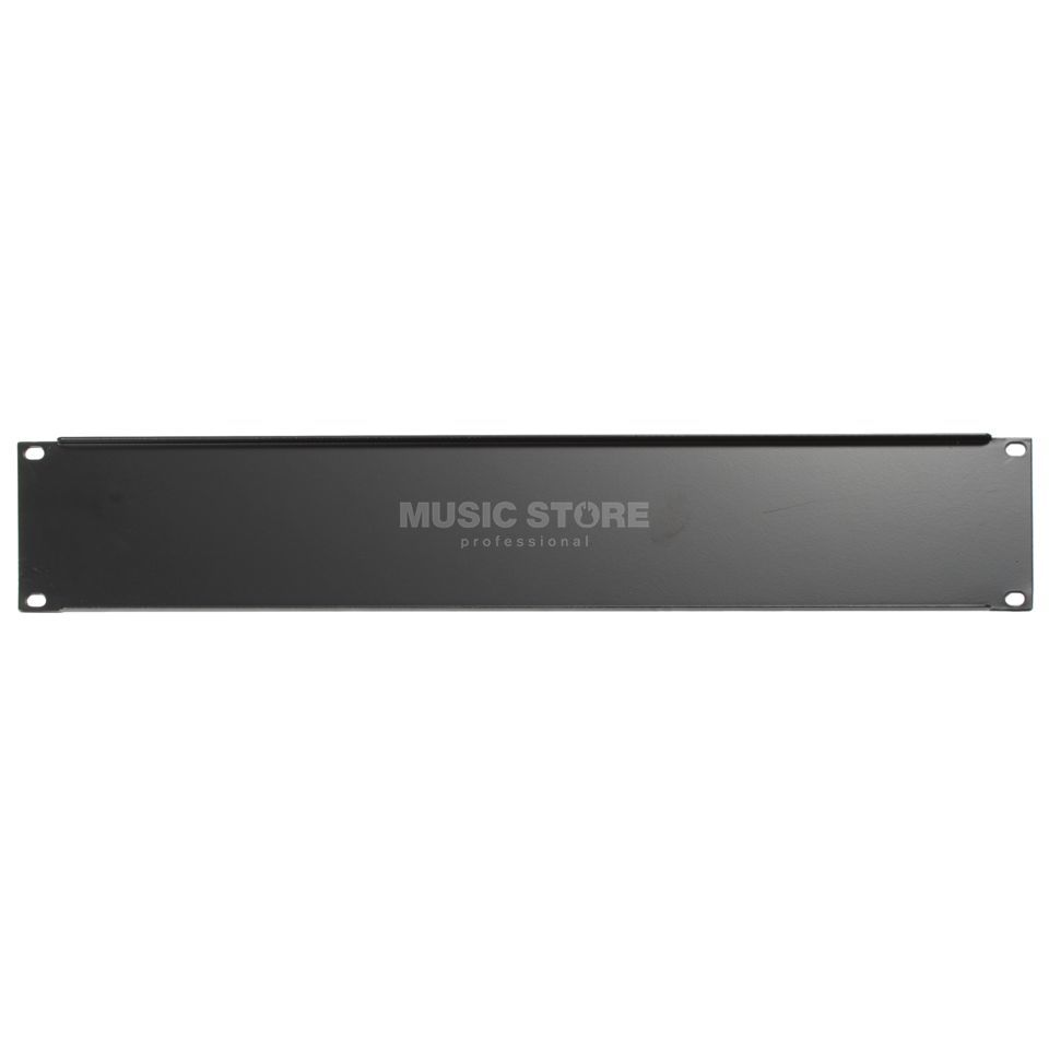 "MUSIC STORE 19"" Rack Panel 2HE Steel Produktbillede"