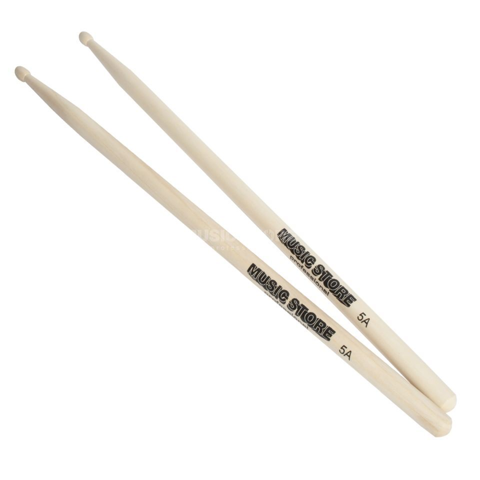 MUSIC STORE 5A Hickory Sticks, Wood Tip Produktbild