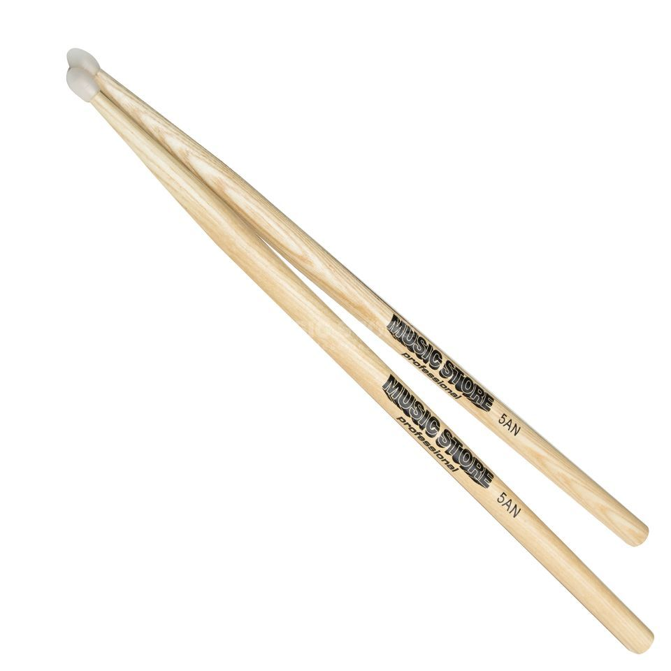MUSIC STORE 5AN Hickory Sticks, Nylon Tip Produktbillede