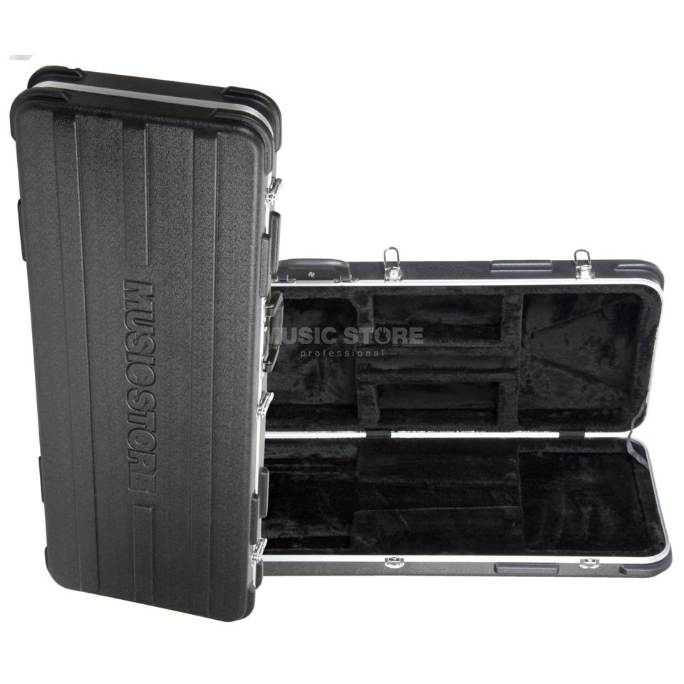 MUSIC STORE ABS Case E-Guitar BK Black Produktbild