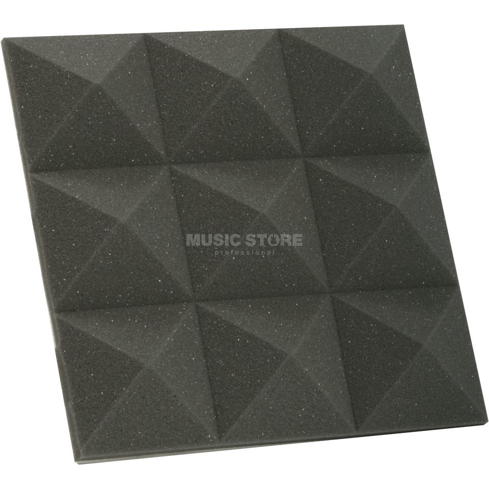 MUSIC STORE Absorber-Set Small, anthracite 300x300x40 Produktbillede