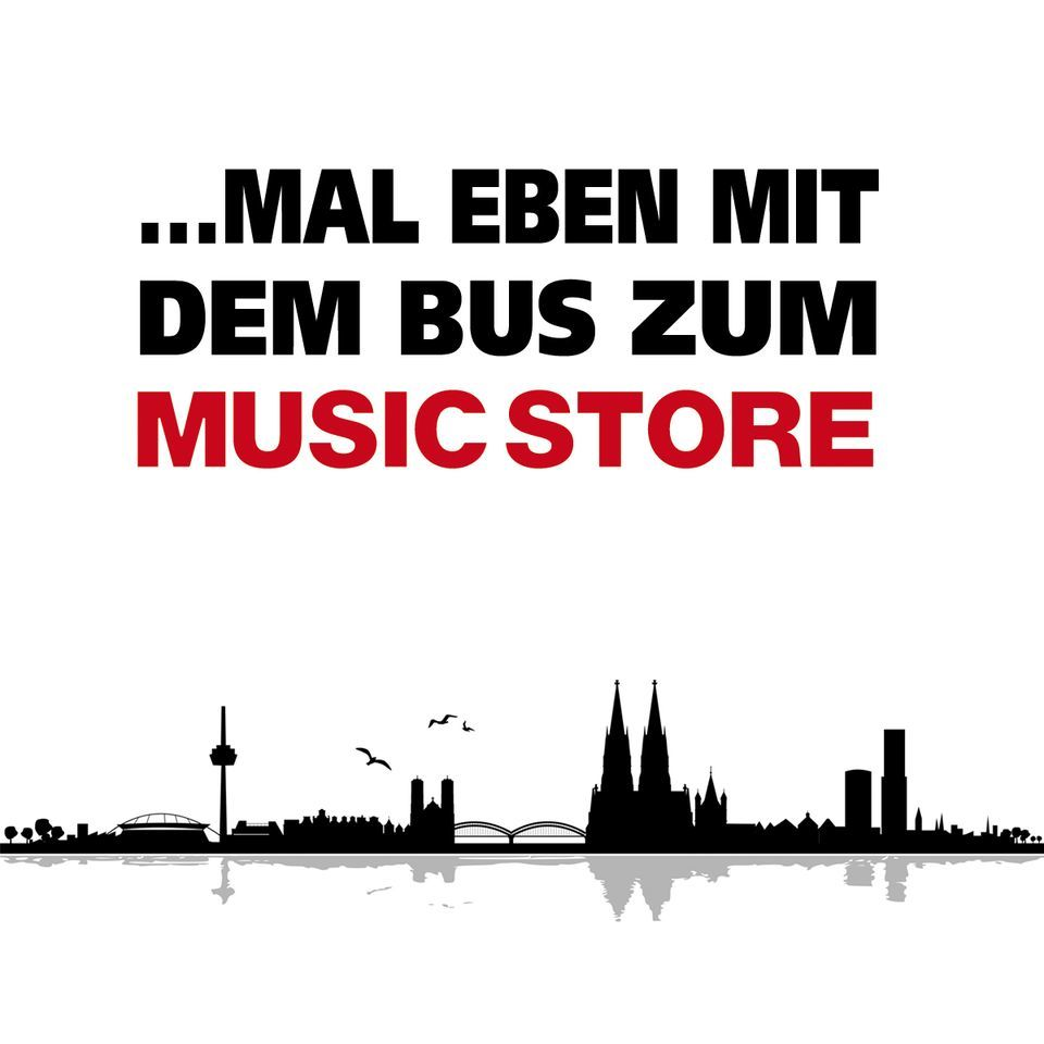 music store busreise leipzig k ln inkl 2 hostel bernachtungen. Black Bedroom Furniture Sets. Home Design Ideas