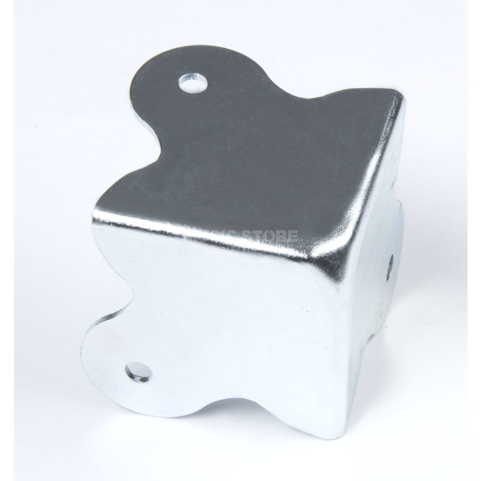 MUSIC STORE Corner Square nickel-plated 48 x - 48 mm, x4 Produktbillede