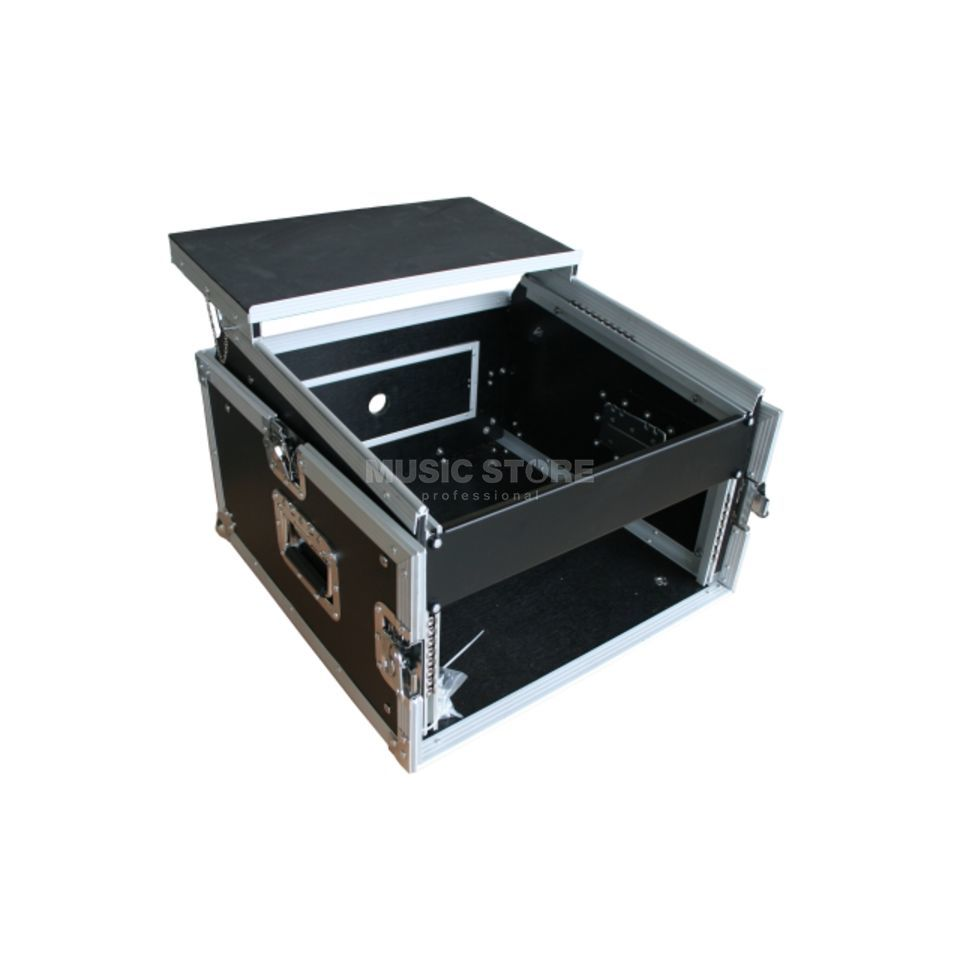 "MUSIC STORE Digital DJ Case 3, 19"" L-Rack 4HE/10HE + Laptopablage Produktbild"