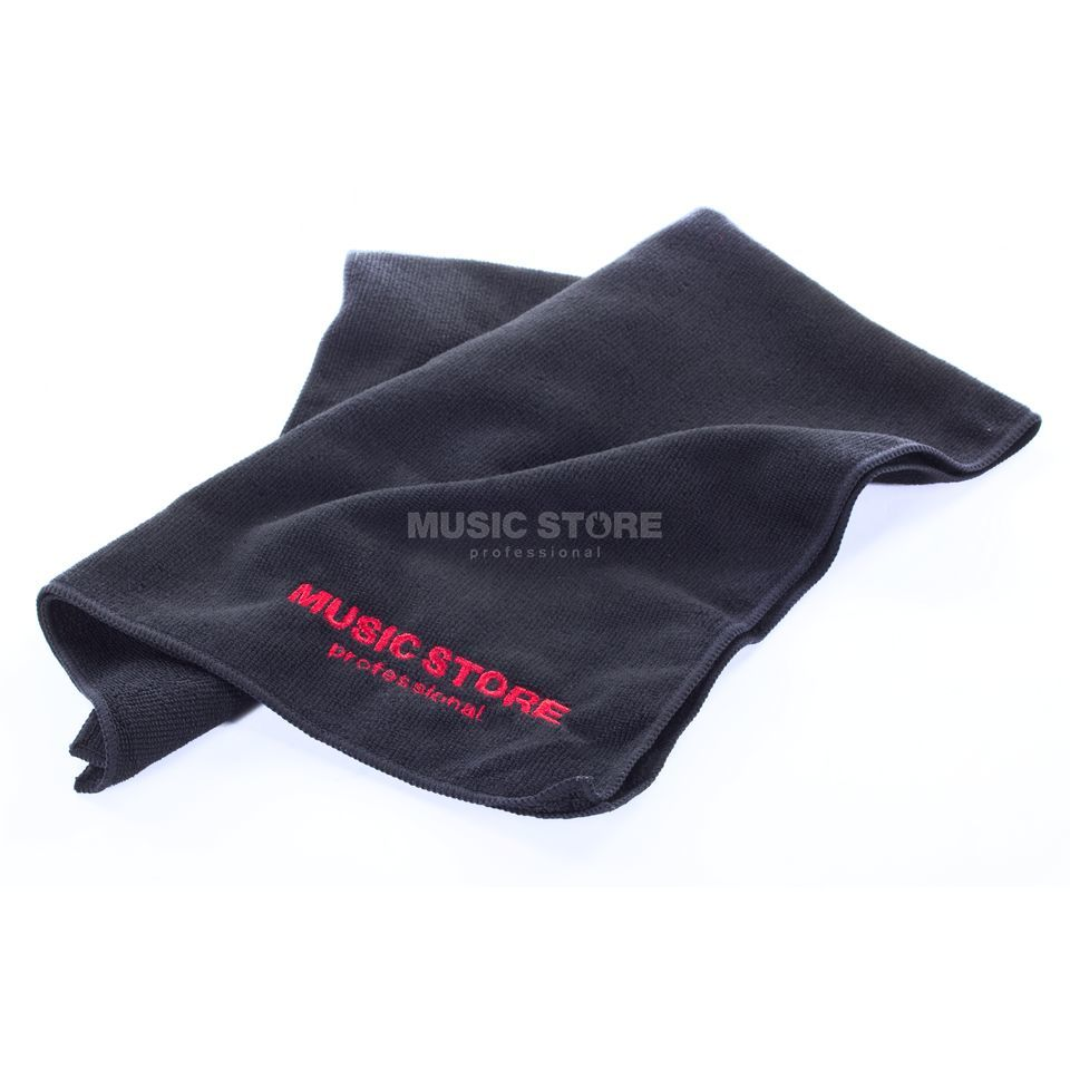MUSIC STORE Drummer Towel - Black 670x390mm Produktbillede