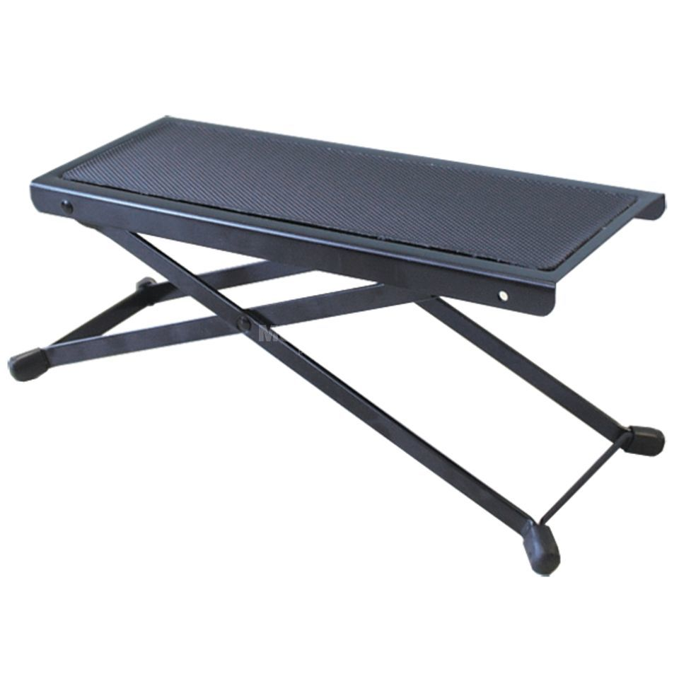MUSIC STORE FST-1 Footstool/Foot Rest Black Product Image