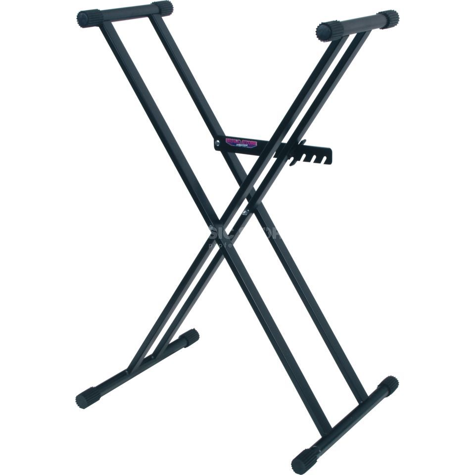 "MUSIC STORE KB-2,  keyboard stand double ""X"" Stand, max.30 kg Produktbillede"