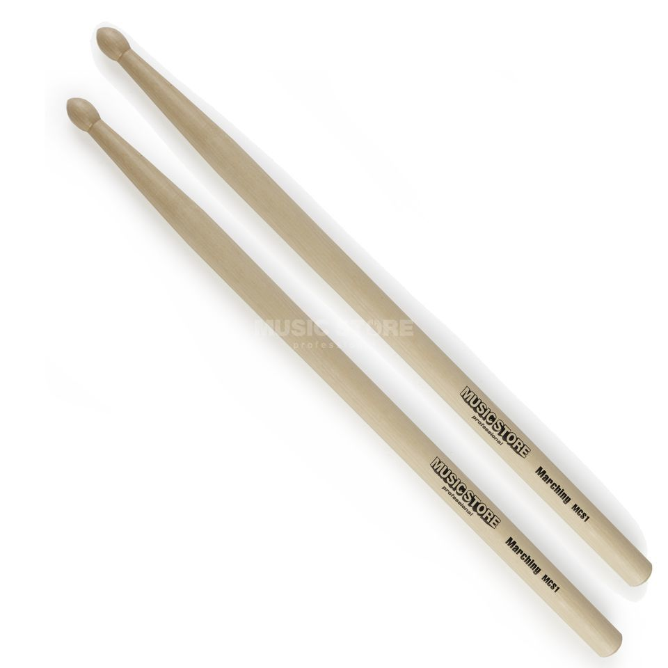 MUSIC STORE Marching Sticks MCS1, Wood Tip Produktbild